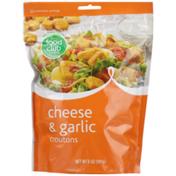 Food Club Cheese & Garlic Croutons