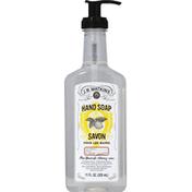 J.R. Watkins Hand Soap, Lemon