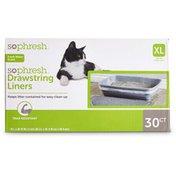 So Phresh Extra Large  Jumbo Drawstring Cat Box Liners