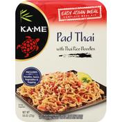 Ka-Me Pad Thai, with Thai Rice Noodles