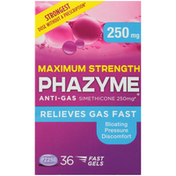 Phazyme Maximum Strength Anti-Gas Fast Gels