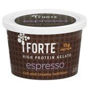 Forte Gelato, High Protein, Espresso
