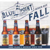 Blue Point Brewing Company River Ave Fall Sampler