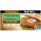 Morning Star Farms Spicy Indian Veggie Veggie Burgers