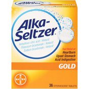 Alka-Seltzer Gold Effervescent Tablets Antacid