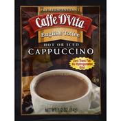 Caffe D'Vita Cappuccino, Premium Instant, English Toffee