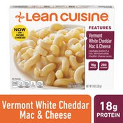 LEAN CUISINE Features Vermont White Cheddar Mac & Cheese Frozen Meal