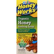 HoneyWorks Honey, Organic, Soothing Syrup