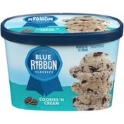 Blue Ribbon Classics Cookies  'N Cream Reduced Fat Ice Cream