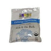 Aura Cacia Soothing Organic Milk & Oat Bath Pure Essential Oils, Calming Chamomile