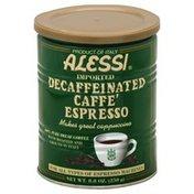 Alessi Caffe Espresso, Decaf, Can