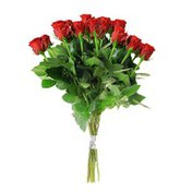 Fair Trade Association Long Stem Roses Bouquet (various colors)