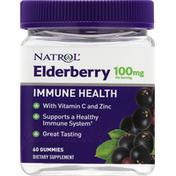 Natrol Immune Health, 100 mg, Elderberry, Gummies