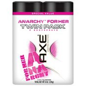 Axe Anarchy II for Her Twin Pack Bodyspray