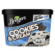 Breyers Frozen Dairy Dessert Cookies & Cream