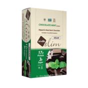 NuGo Slim Chocolate Mint, Vegan, Gluten Free, Low Sugar, Protein Bar