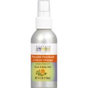 Aura Cacia Aromatherapy Mist, Room & Body, Peaceful Patchouli & Sweet Orange