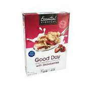 Essential Everyday Good Day Cereal with Strawberries