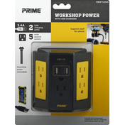 Prima Workshop Power, with USB Charging