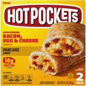 Hot Pockets Frozen Snack Bacon, Egg and Cheese Pancake Crust Sandwich
