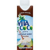 Vita Coco Coconut Water, Pure, Chocolate