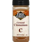 First Street Cinnamon, Ground
