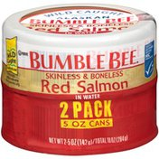 Bumble Bee Skinless & Boneless Red Salmon in Water