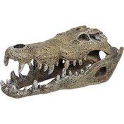 """Blue Ribbon Pet Products Small Nile Crocodile Skull Aquarium Ornament 6"""" L X 2.5"""" W X 2.25"""" H"""