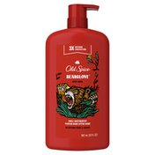 Old Spice Wild Bearglove Scent Body Wash For Men