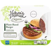 Nature's Promise Organic Plant Based Burger