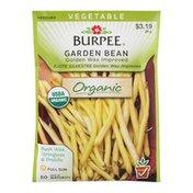 Burpee Garden Bean Golden Wax Improved Organic