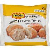 Rhodes Bake-N-Serv Artisan French White Rolls
