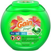 Gain flings Laundry Detergent Pacs, Tropical Sunrise