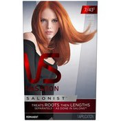 Vidal Sassoon Salonist Permanent 7/43 2 Intense Red Copper Hair Colour