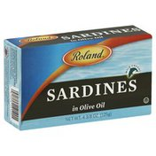 Roland Sardines, in Olive Oil