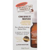 Palmer's Facial Oil, Luminous Hydration, Coconut Oil Formula
