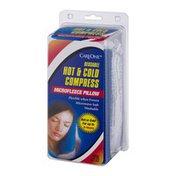 CareOne Hot & Cold Compress Microfleece Pillow Reusable