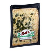 Sal's White Spinach & Roasted Garlic Pizza