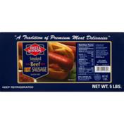 Dietz & Watson Smoked Beef Hot Sausage