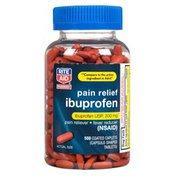Rite Aid Pharmacy Ibuprofen, 200 mg, Coated Brown Caplets, 500 caplets