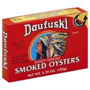 Daufuski Oysters, Smoked, Fancy Whole