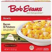 Bob Evans Bacon & Potatoes ID 592 Bowl