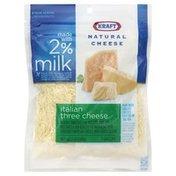 Kraft Cheese, Italian Three Cheese