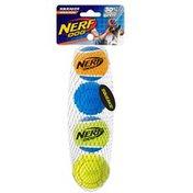 "NERF DOG 2 2.5"" Non Squeak Distance Ball"