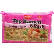 Nissin Shrimp Flavor Ramen Noodle Soup
