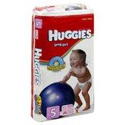 Huggies Diapers, Size 5 (Over 27 lb), Disney, Super Mega