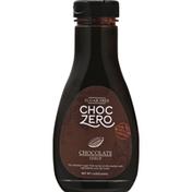 ChocZero Chocolate Syrup, Sugar Free
