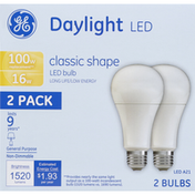 General Electric LED Daylight Light Bulbs 100W
