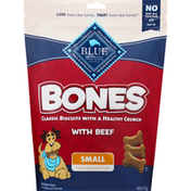 Blue Biscuits for Dogs, with Beef, Small