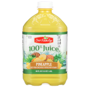 Our Family 100% Pineapple Juice From Concentrate Fortified With Vitamin C